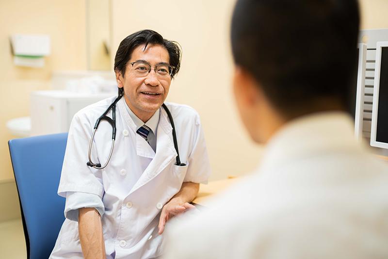 ① 医師による診察・検査など